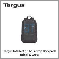 "Targus Intellect 15.6"" Laptop Backpack (Black & Grey)"
