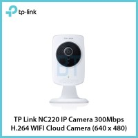 TP Link NC220 IP Camera 300Mbps H.264 WIFI Cloud Camera (640x480)
