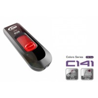 Team C141 USB2.0 8GB USB Flash Drive (Red)