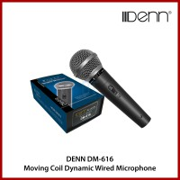 DENN DM-616 Moving Coil Dynamic Wired Microphone