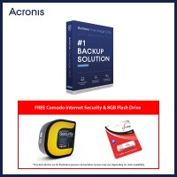 Acronis True Image 2016 (Free Comodo Internet Security + 8GB Flash Drive)