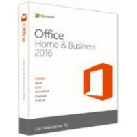MS. OFFICE HOME AND BUSINESS 2016 32-BIT/ X64 ENGLISH APAC EM DVD