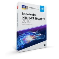 BitDefender Internet Security 2018 (3 Devices 1 Year)