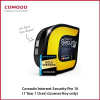 Comodo Internet Security Pro 10 (1 Year 1 User) (License Key only)