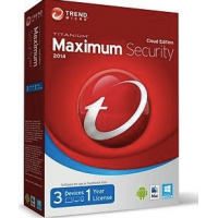 Trend Micro Maximum Security 2017 (1 Device) 12 Months